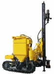 KGH3 series low wind pressure environmental protection type open-air crawler drilling rig