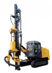 KY9S semi-hydraulic open-air crawler drilling rig