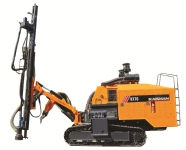 KT7C integral type high wind pressure open-air crawler drilling rig