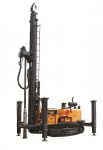 KW600 geotherm water well multifunction drilling rig