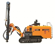 KT8C integral type high wind pressure open-air crawler drilling rig