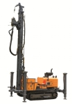KW400 geotherm water well multifunction drilling rig