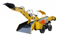 KB8T rubber-tyred Backhoe Loader