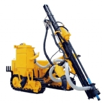 KH5 series high wind pressure environmental protection type open-air crawler drilling rig