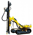 KC120 all pneumatic open-air crawler drilling rig