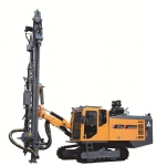 ZT10 integral type high wind pressure open-air crawler drilling rig